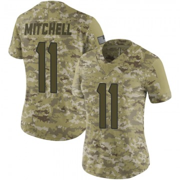 Women's Steven Mitchell Houston Texans Limited Camo 2018 Salute to Service Jersey