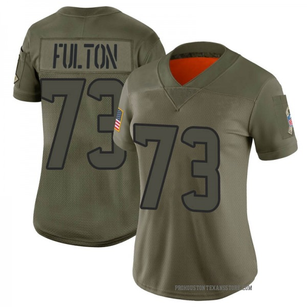 Women's Zach Fulton Houston Texans Limited Camo 2019 Salute to Service Jersey