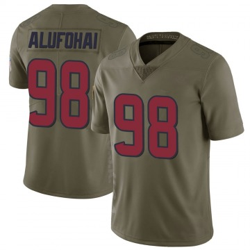 Youth Auzoyah Alufohai Houston Texans Limited Green 2017 Salute to Service Jersey