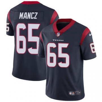 Youth Greg Mancz Houston Texans Limited Navy Blue Team Color Jersey