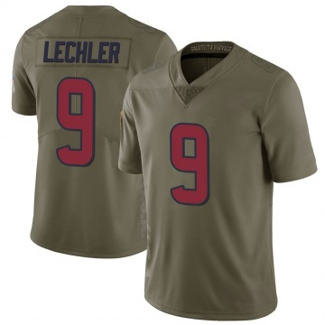 Youth Shane Lechler Houston Texans Limited Green 2017 Salute to Service Jersey
